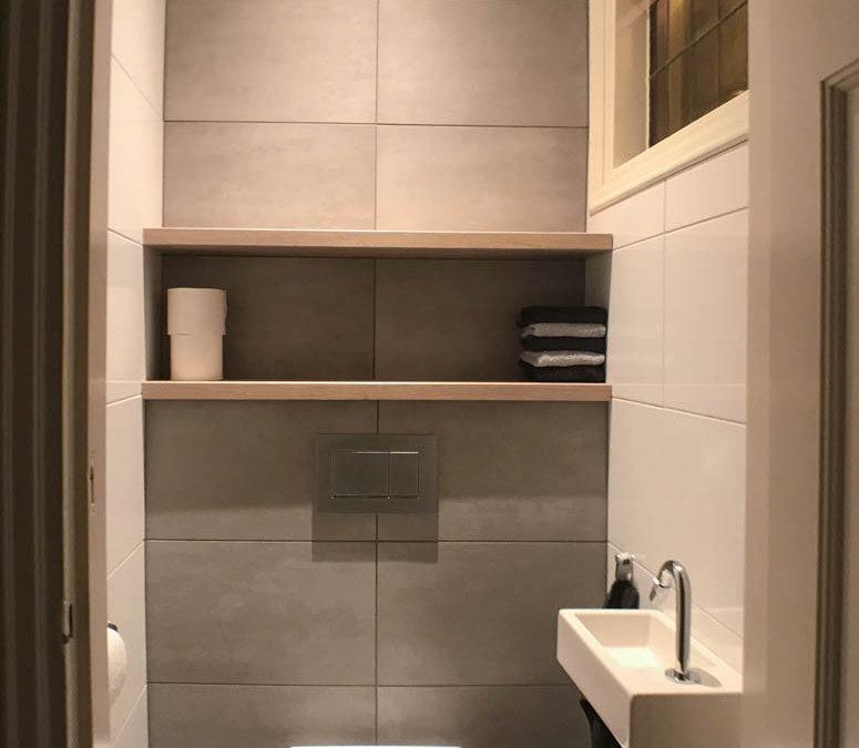 Toilet renovatie 3